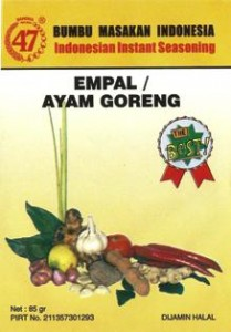 Bumbu 47 Empal / Ayam Goreng