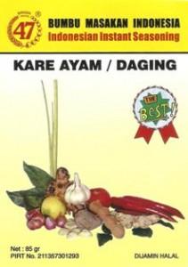 Bumbu 47 Kare Ayam / Daging