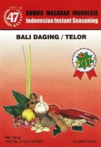 Bumbu 47 Bali Daging / Telor
