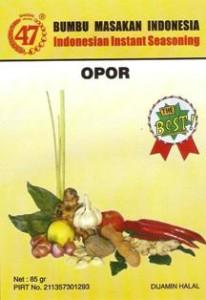 Bumbu 47 Opor
